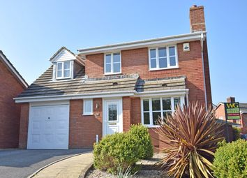 Thumbnail 4 bedroom detached house for sale in Royal Close, Alphington, Exeter