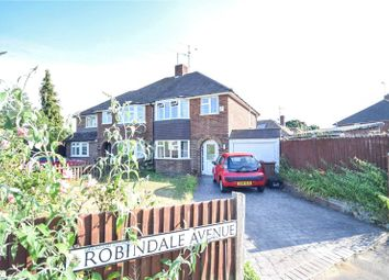 Thumbnail 3 bed semi-detached house to rent in Robindale Avenue, Earley, Reading, Berkshire