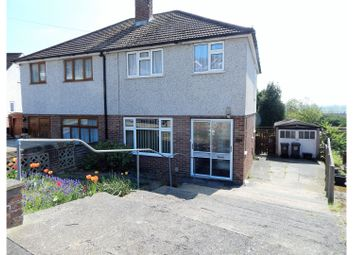 Thumbnail 3 bedroom semi-detached house for sale in Coombfield Drive, Dartford