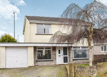 Thumbnail 4 bedroom detached house for sale in St Marys View, Coychurch, Bridgend.