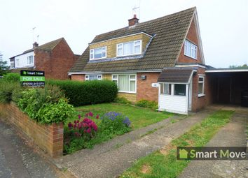 Thumbnail 2 bedroom semi-detached bungalow for sale in Woodhurst Road, Peterborough, Cambridgeshire.