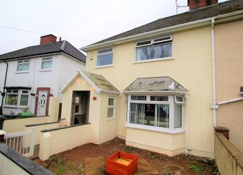 Thumbnail 3 bed semi-detached house for sale in Manorbier Cres, Rumney, Cardiff