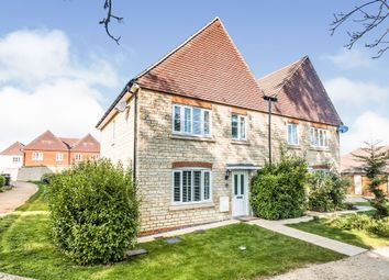 Thumbnail 3 bed semi-detached house for sale in Denchworth Road, Wantage