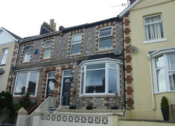 Thumbnail 3 bed terraced house for sale in Torquay, Devon, England
