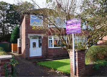 Thumbnail 3 bed semi-detached house for sale in Rothesay Crescent, Sale