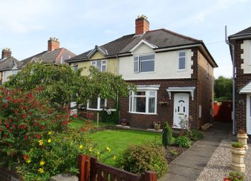 Thumbnail 2 bed semi-detached house for sale in Station Road, Bagworth, Leicestershire