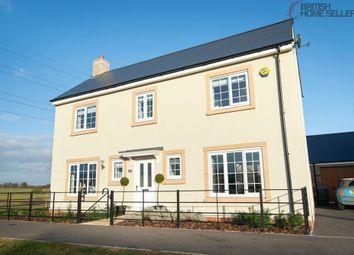 Thumbnail 4 bed detached house for sale in Cowleaze, Purton, Swindon, Wiltshire