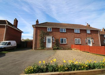 Thumbnail 3 bedroom semi-detached house for sale in Francis Road, Long Stratton, Norwich
