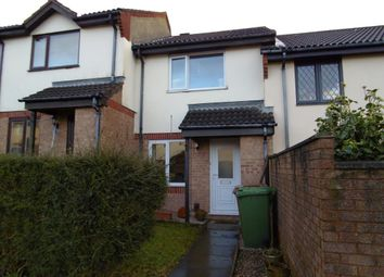Thumbnail 2 bed terraced house to rent in Poplar Close, Plympton, Devon