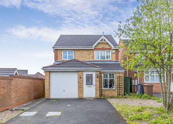 Thumbnail 3 bed detached house for sale in Watermeadow Grove, Stoke-On-Trent