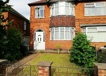 Thumbnail 3 bedroom end terrace house for sale in Aylestone Road, Leicester