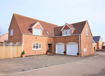 Thumbnail 4 bedroom detached house for sale in Harpers Court, Wisbech