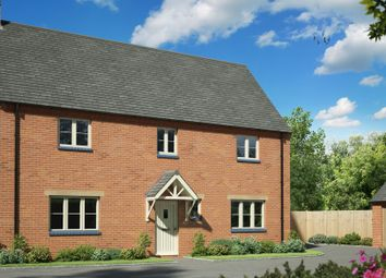 Thumbnail 4 bed detached house for sale in Northampton Road, West Haddon, Northampton
