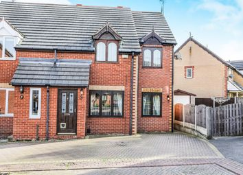 Thumbnail 4 bed semi-detached house for sale in Low Wood Close, Swinton, Mexborough