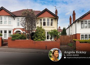 Thumbnail 4 bedroom semi-detached house for sale in Colchester Avenue, Penylan, Cardiff