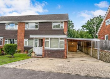 Thumbnail 3 bed semi-detached house for sale in Highfield Close, Easebourne, Midhurst, West Sussex