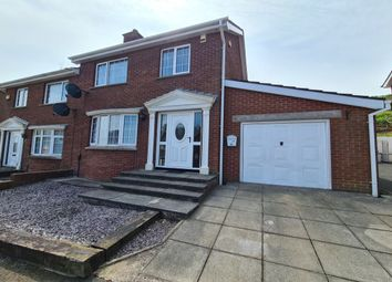 Thumbnail 3 bed semi-detached house for sale in Hillcrest Drive, Newtownabbey