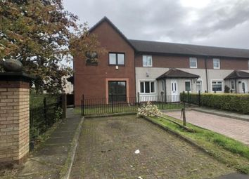 Thumbnail 3 bed end terrace house for sale in Ardmaleish Crescent, Glasgow, Lanarkshire