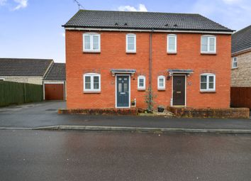 Thumbnail 3 bed semi-detached house for sale in Poppy Close, Calne