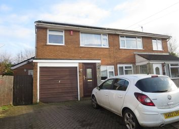 Thumbnail 3 bed semi-detached house for sale in Shardlow Close, Fenton, Stoke-On-Trent