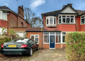 Thumbnail 4 bedroom semi-detached house for sale in Woodland Rise, Greenford