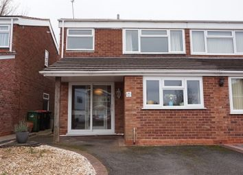 Thumbnail 3 bed semi-detached house for sale in Windsor Road, Polesworth, Tamworth
