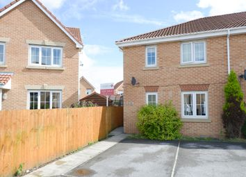 Thumbnail 3 bed town house for sale in Hough Close, Chesterfield