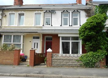 Thumbnail 3 bed terraced house to rent in Fenton Place, Porthcawl