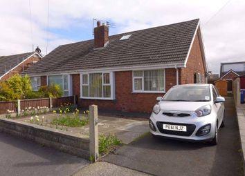 Thumbnail 2 bedroom semi-detached bungalow for sale in Wendover Road, Poulton-Le-Fylde