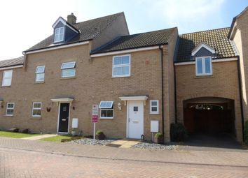 Thumbnail 2 bedroom terraced house for sale in Mallory Drive, Yaxley, Peterborough