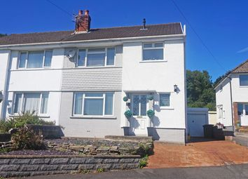 Thumbnail 3 bed semi-detached house for sale in Pen-Y-Cae, Ystrad Mynach, Hengoed