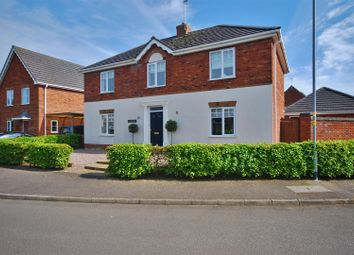 Thumbnail 4 bed detached house for sale in Tulip Fields, Whaplode, Spalding