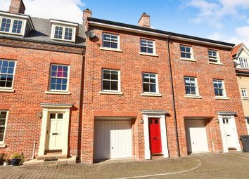 Thumbnail 4 bed town house for sale in Kilderkin Way, Norwich