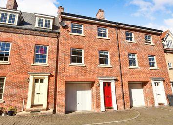 Thumbnail 4 bedroom town house for sale in Kilderkin Way, Norwich