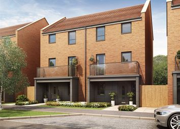 "Thumbnail 4 bed town house for sale in ""The Wolvesey "" at Hobbs Cross Road, Harlow"