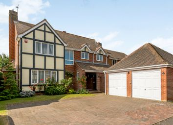 Thumbnail 4 bed detached house for sale in Grantley Close, Copford, Colchester