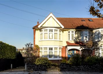 Thumbnail 4 bed end terrace house for sale in Grenoble Gardens, Palmers Green, London