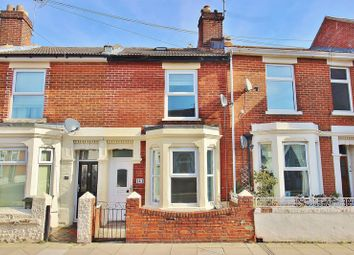 Thumbnail 2 bedroom terraced house for sale in Jessie Road, Southsea