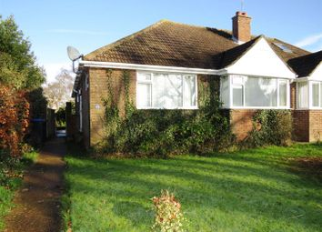 Thumbnail 3 bed semi-detached bungalow for sale in Priory Road, Burgess Hill