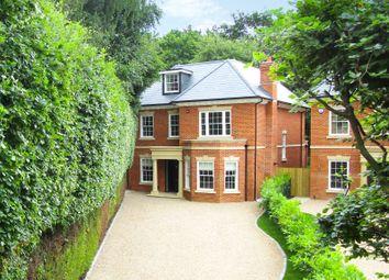 Thumbnail 5 bedroom detached house for sale in The Fairway, Weybridge, Surrey
