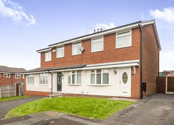 Thumbnail 2 bed semi-detached house for sale in Peel Close, Whiston, Prescot