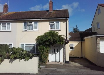 Thumbnail 3 bed semi-detached house for sale in Jerrard Close, Honiton