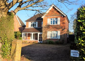 Thumbnail 4 bed detached house for sale in Crossways Road, Grayshott