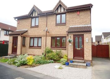 Thumbnail 2 bed semi-detached house to rent in Betjeman Walk, Crownhill, Plymouth