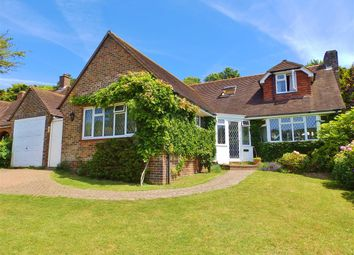 Thumbnail 3 bed detached house for sale in Peakdean Lane, Friston, Eastbourne