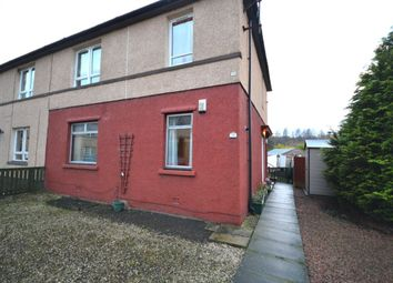 Thumbnail 1 bed flat for sale in Mansionhouse Road, Camelon, Falkirk