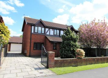 Thumbnail 4 bed detached house for sale in Sheep Hill Lane, New Longton, Preston