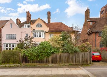 Thumbnail 5 bedroom semi-detached house for sale in Eton Avenue, Hampstead, London