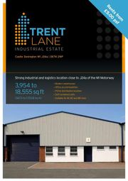 Thumbnail Light industrial to let in Unit 9, Trent Lane Industrial Estate, Castle Donington, Derbyshire