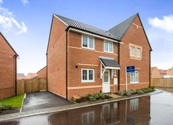 Thumbnail 3 bedroom semi-detached house for sale in Dempsey Close, Wakefield